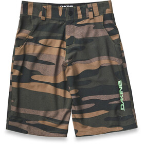 Dakine Pace Cycling Shorts Children olive
